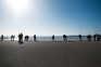 A zona da Foz e da praia de Matosinhos estavam cheias de pessoas, no último fim de semana