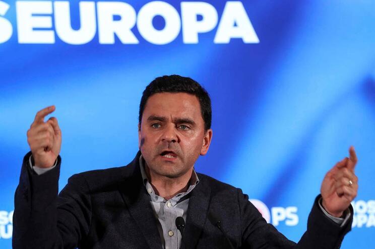 O cabeça de lista do PS às eleições europeias, Pedro Marques
