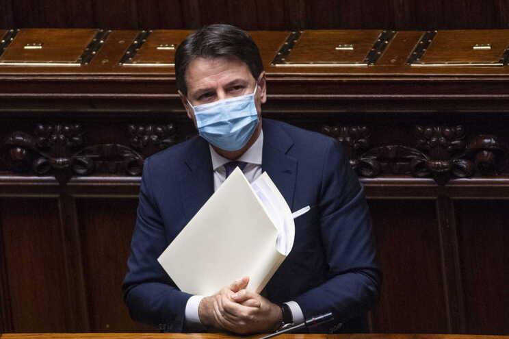 Giuseppe Conte, primeiro-ministro de Itália
