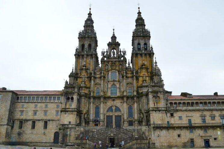 A catedral de Santiago é o quarto monumento mais visitado de Espanha
