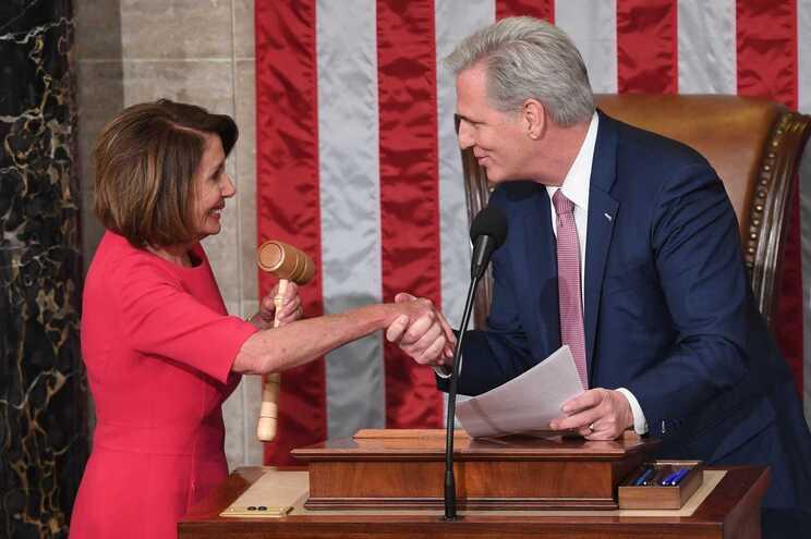 Nancy Pelosi e Kevin McCarthy