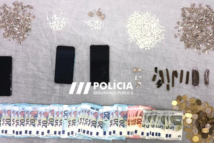 PSP deteve dois traficantes que vendiam droga na Figueira da Foz