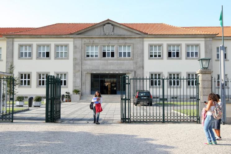 Escola Secundária Eça de Queirós, na Póvoa de Varzim