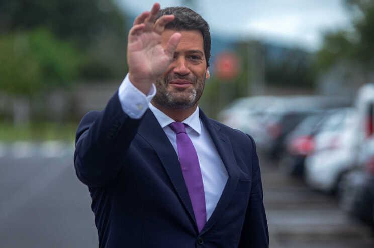 O presidente do Chega, André Ventura