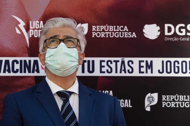 O secretário de Estado da Saúde António Lacerda Sales