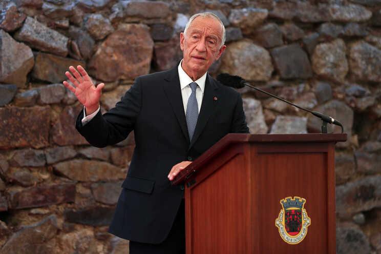 O Presidente da República, Marcelo Rebelo de Sousa