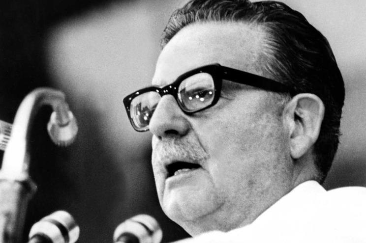 Salvador Allende, em 1973
