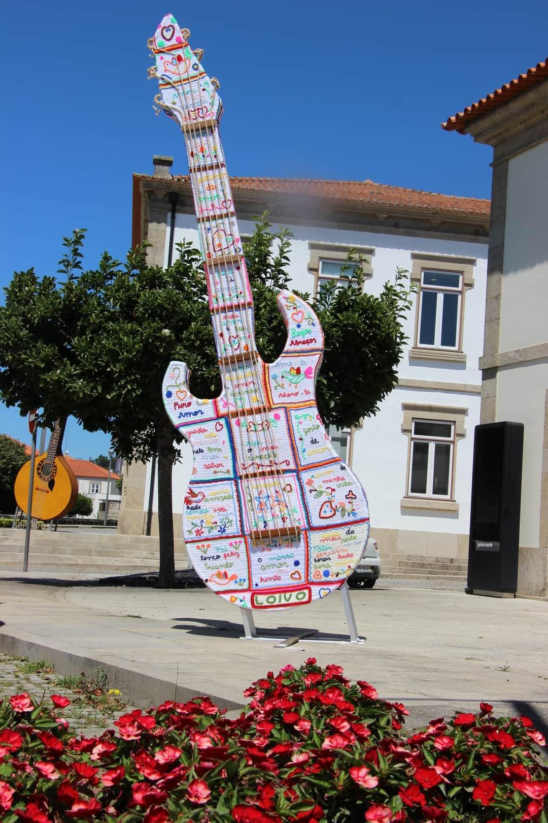 Música Sai à Rua Em Cerveira Em Forma De Crochet