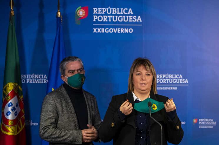 José Luis Ferreira e Mariana Silva, do PEV