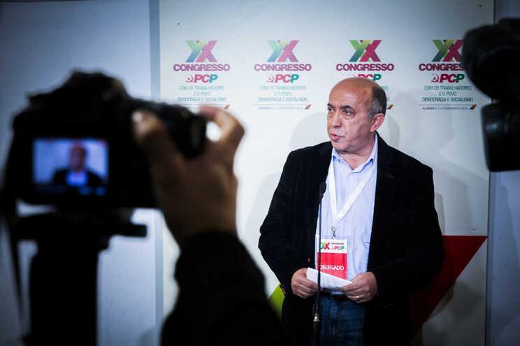 Jorge Pires, membro da Comissão Política do Comité Central do PCP