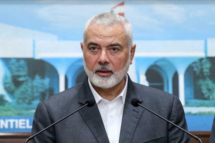 O Hamas anunciou, esta este domingo, a reeleição de Ismail Haniyeh como líder supremo