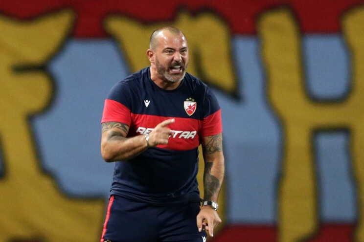 Dejan Stankovic, treinador do Estrela Vermelha