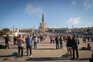 Em outubro do ano passado foi permitida a presença de seis mil peregrinos