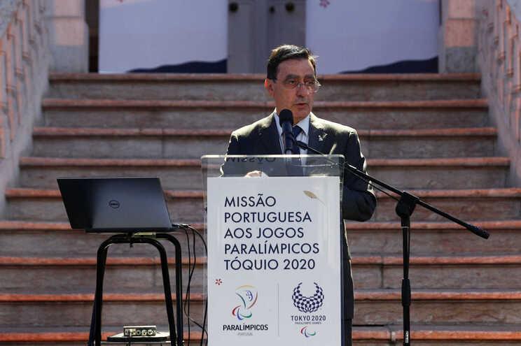 José Manuel Lourenço, presidente do Comité Paralímpico de Portugal
