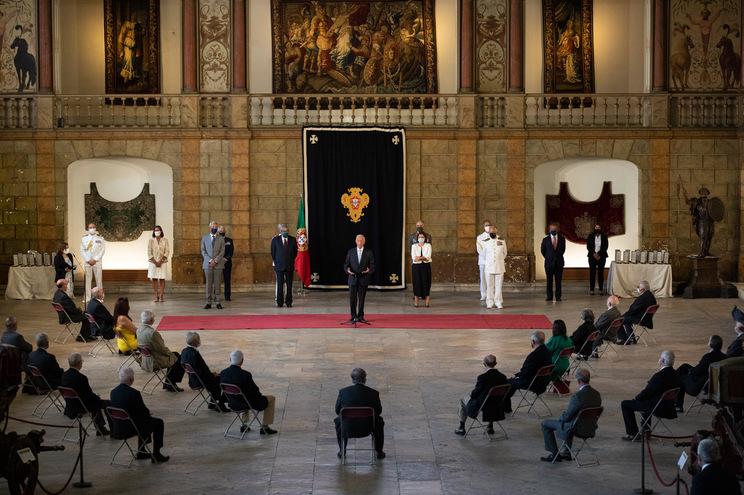 O Presidente da República, Marcelo Rebelo de Sousa, condecorou 26 militares e ex-militares