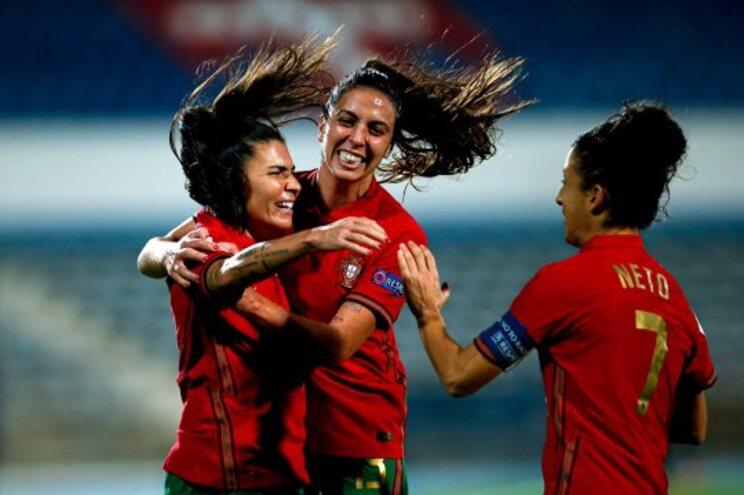 Seleção feminina em 17.º lugar do ranking da UEFA