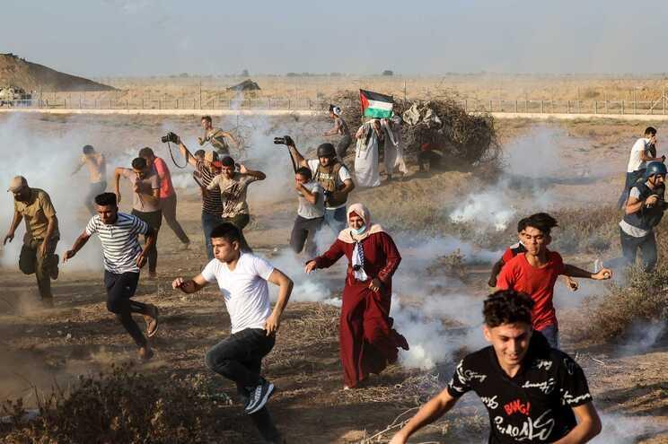 Criança morre após ser ferido por exército israelita durante confrontos em Gaza
