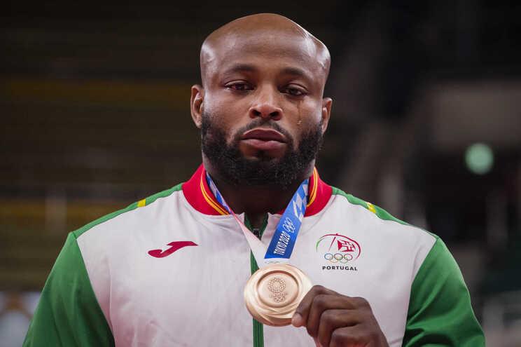 Jorge Fonseca conquistou a medalha de bronze no Judo