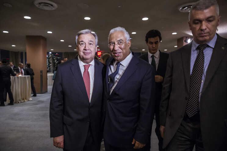 António Guterres e António Costa