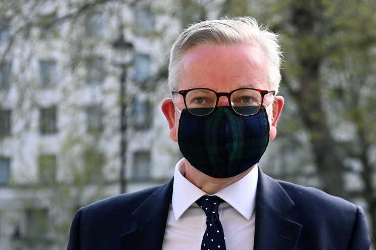 O ministro de Estado britânico, Michael Gove