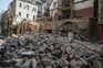 85 mil edifícios foram danificados, incluindo casas, hospitais e escolas