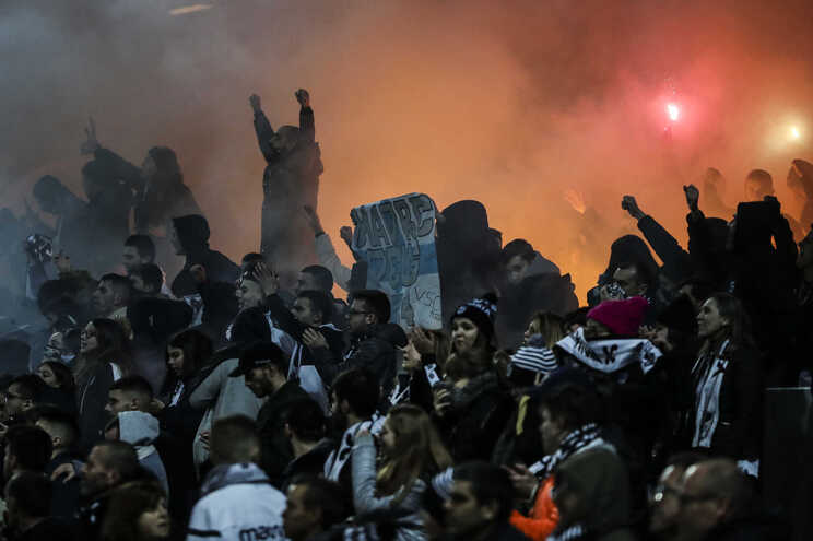 Caso aconteceu na partida entre o Vitória e o Benfica, em janeiro do ano passado