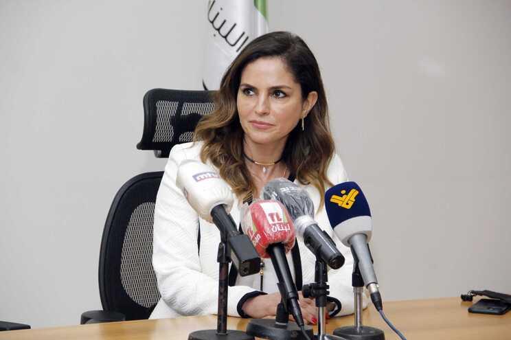 Manal Abdel Samad, ministra da Informação libanesa