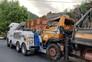 """A remoção do camião obrigou a uma operação """"cirúrgica"""""""