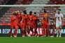 O Benfica venceu o Vilafranquense este domingo