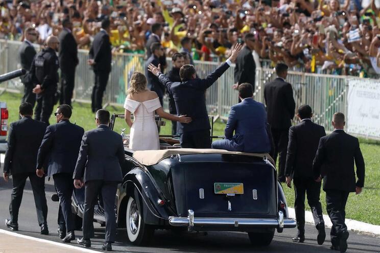 """Jornalistas ameaçados """"com tiros"""" na posse de Bolsonaro"""