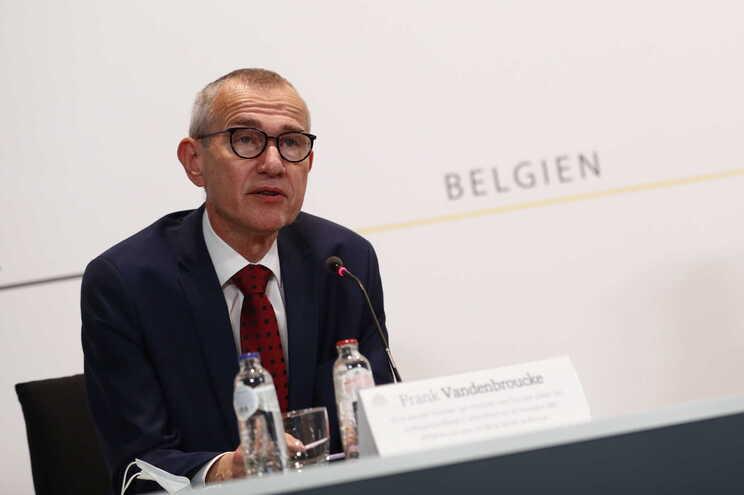O ministro da Saúde belga, Frank Vandenbroucke