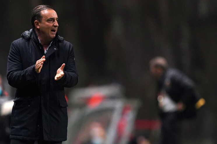 Carlos Carvalhal, treinador do S. C. Braga