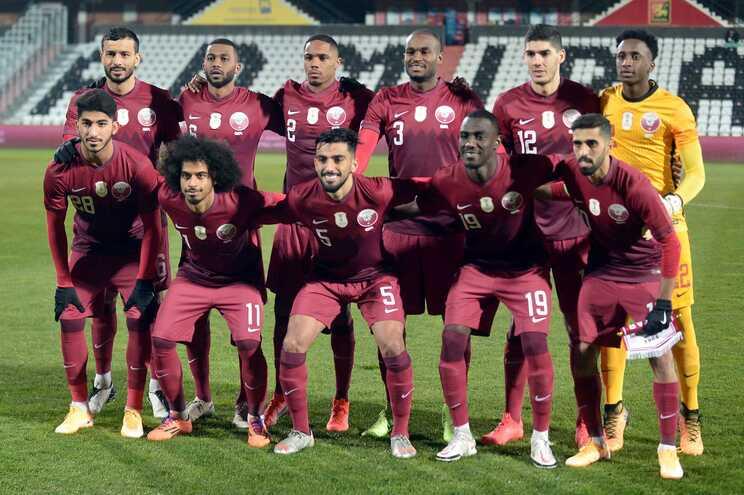 A seleção do Catar vai integrar o Grupo A da qualificação europeia para o Mundial de 2022