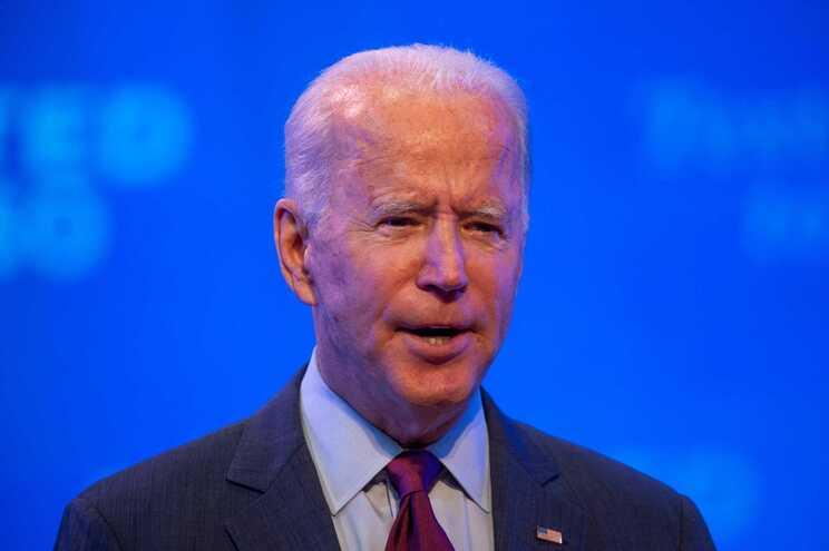 O candidato democrata à presidência dos Estados Unidos, Joe Biden