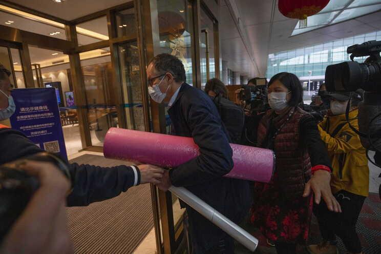 Equipa da OMS esteve na China para investigar a origem do vírus