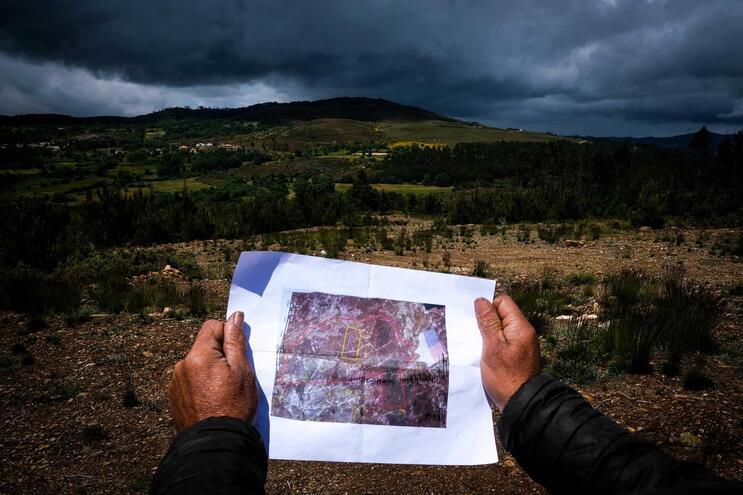 Local previsto para exploração de lítio em Montalegre