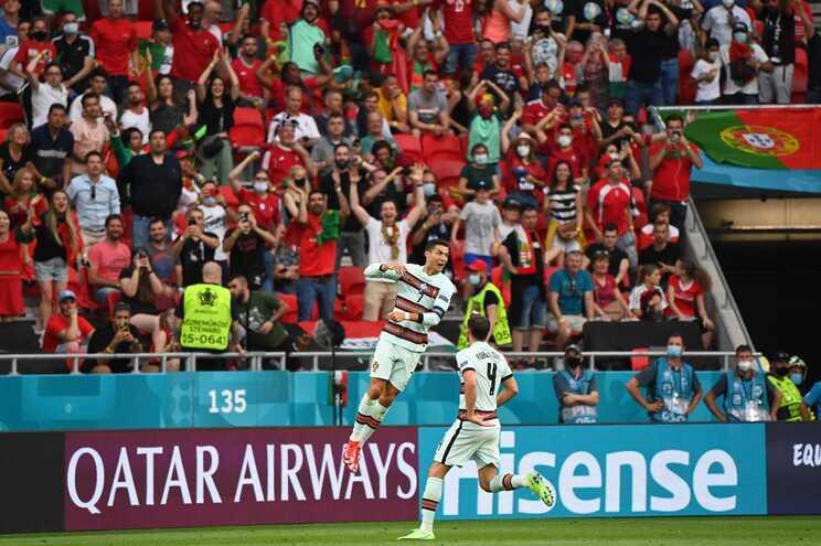 Portugal venceu a Hungria por 3-0