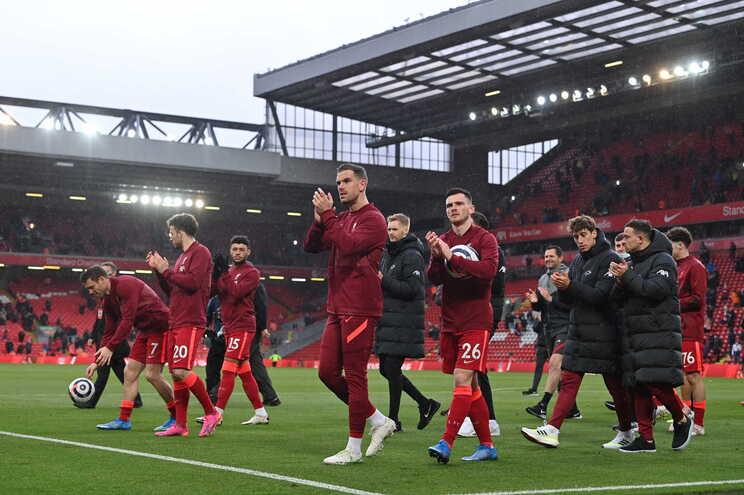 O Liverpool venceu este domingo