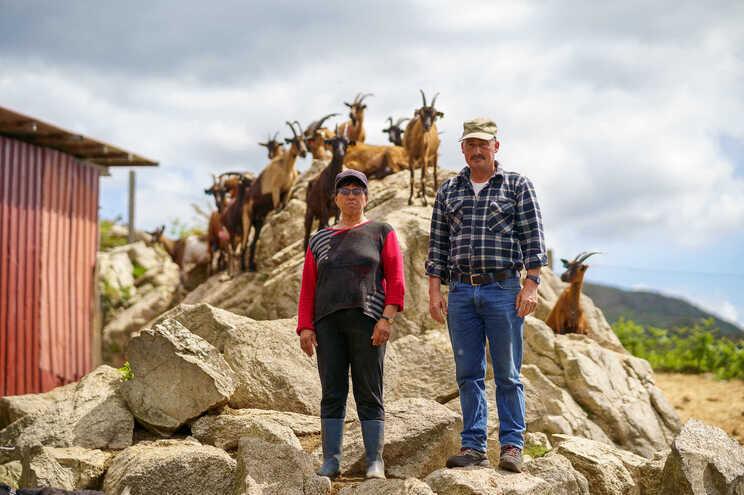 O pastor Dario e a mulher Maria da Graça
