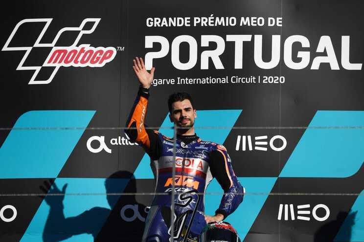 Miguel Oliveira venceu em 2020