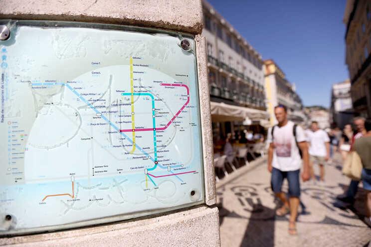 Incidente aconteceu na estação da Baixa-Chiado, no centro de Lisboa