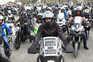 Protesto dos motociclistas em Lisboa