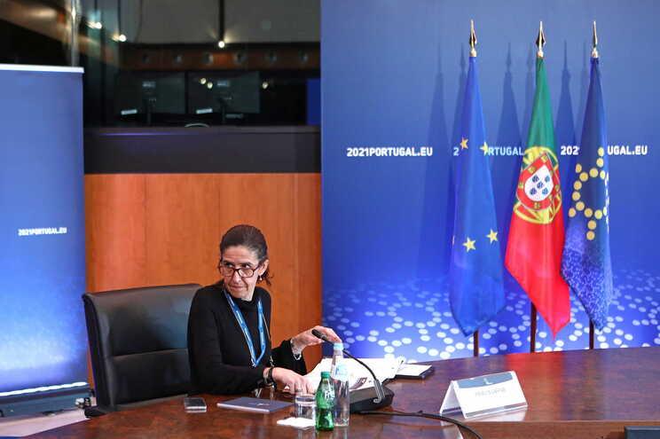 Patrícia Gaspar, secretária de Estado da Administração Interna
