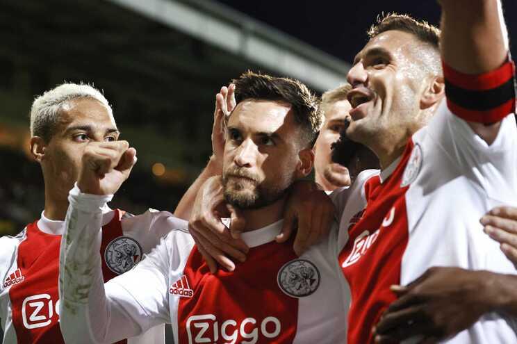 O Ajax já marcou 27 golos na Liga dos Países Baixos esta época