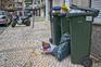 Recolha de lixo fortemente afetada em Lisboa