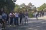 Vídeo: Apoiantes de juiz negacionista reunidos sem máscara na Feira