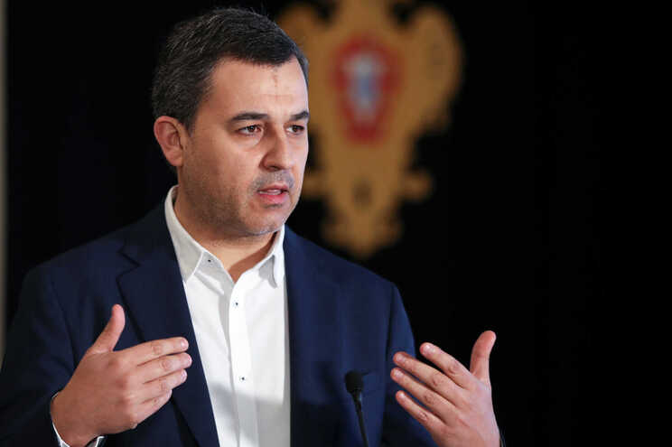 O presidente do PAN, André Silva