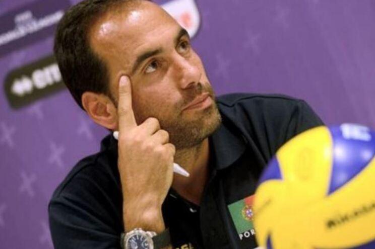Hugo Silva, selecionador nacional de voleibol