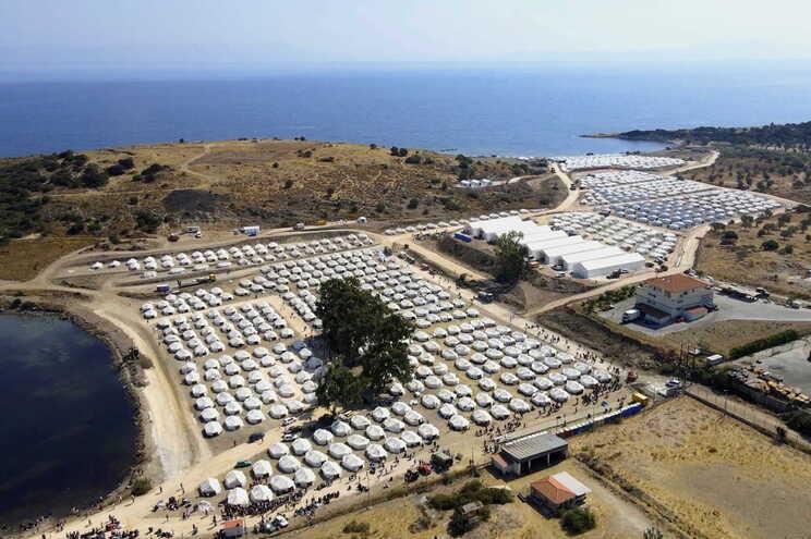 Ilha grega de Lesbos