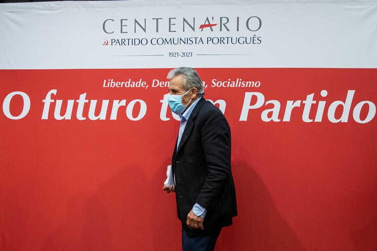 O secretário-Geral do Partido Comunista Português, Jerónimo de Sousa